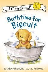 bath time for biscuit
