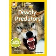 National Geographic Readers  Level 2 deadly predators