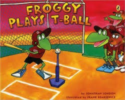 froggy plays t ball