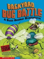 Buzz Beaker Brainstorm:  Backyard Bug Battle