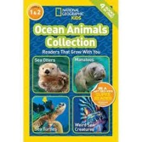 national georgraphic readers ocean animals collection