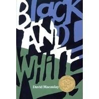 black and white book david macaulay