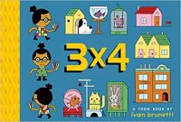 3 X 4  TOON Level 1  (Toon Easy-to-read Comics, Level 1)
