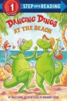 dancing dinos at the beach 3
