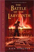 Percy Jackson and the Olympians, Book 4:  The Battle of the Labyrinth