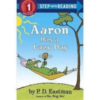 aaron has a lazy day step into reading