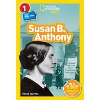 National Geographic Readers  Level 1  Susan B. Anthony   You Read I Read