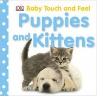 dk baby touch and feel puppies and kittens