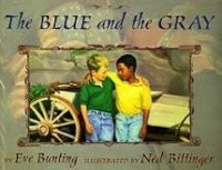 the blue and the gray bunting