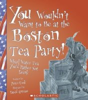 You Wouldn't Want To Be At The Boston Tea Party! Wharf Water Tea You'd Rather Not Drink
