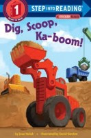 step into reading step 1 dig scoop