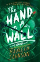 hand on the wall by maureen johnson