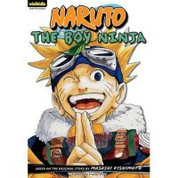 Naruto, 1:  The Boy Ninja  (Naruto Chapter Books,1)
