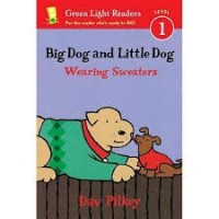 green light readers big dog and little dog wearing sweaters
