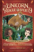 Unicorn Rescue Society, Book 3:  Sasquatch and the Muckleshoot