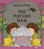 the popcorn book by tomie depaola