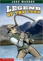 jake maddox sports stories legend of the lure