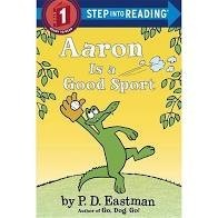 aaron is a good sport  step into reading