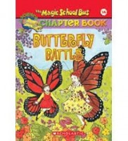 magic school bus chapter book butterfly battle