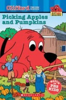 clifford picking apples and pumpkins