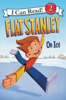 Flat Stanley On Ice  (I Can Read Level 2 Reading With Help)