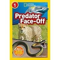 National Geographic Readers  Level 1  Predator Face Off