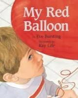 my red balloon  bunting