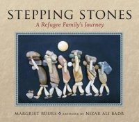 Stepping Stones: A Refugee Family's Journey (In Arabic and English)