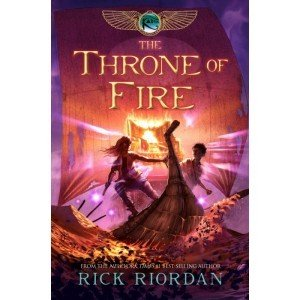 Kane Chronicles: The Throne of Fire (Book Two)