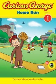curious george home run  green light readers