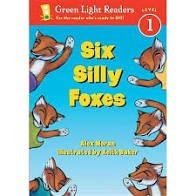 green light readers six silly foxes