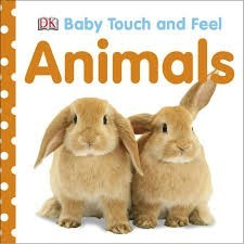 DK baby touch and feel animals