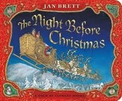 night before christmas  jan brett