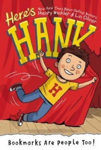 Here's Hank, Book #1:  Bookmarks Are People Too