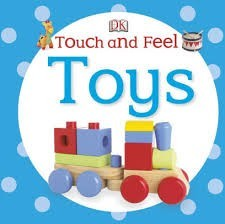 DK touch and feel toys