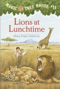 Magic Tree House Series, Book 11: Lions at Lunchtime