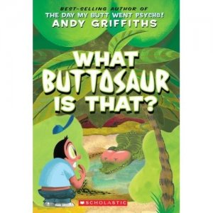 Butt Books:  What Buttosaur is That?
