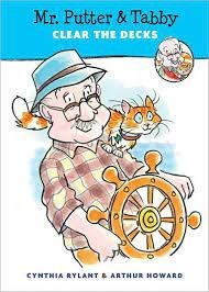 mr. putter and tabby clear the decks