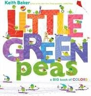 little green peas a big book of colors  keith baker