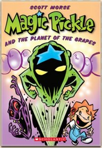 Magic Pickle and the Planet of the Grapes