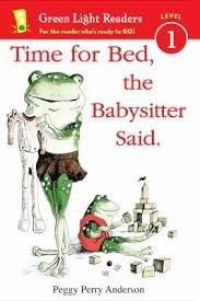 time for bed the babysitter said