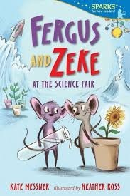 fergus and zeke at the science fair