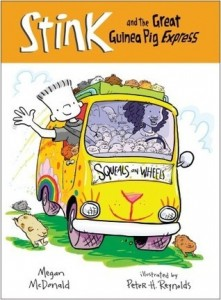 Stink, Book 4:  Stink and the Great Guinea Pig Express