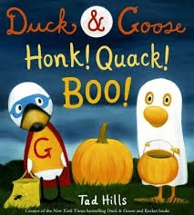 Duck and Goose  tad hills  honk quack boo2