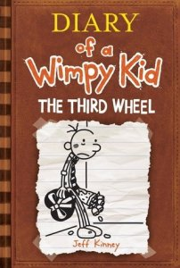 Diary of a Wimpy Kid, Book 7:  The Third Wheel