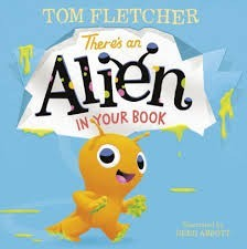 there is an alien in your book