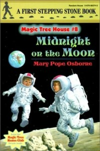 Magic Tree House Series,  Book 8: Midnight on the Moon
