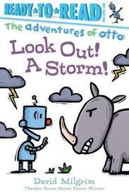 look out a storm