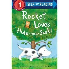 rocket loves hide and seek tad hills step into reading