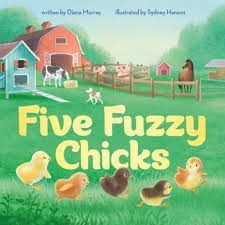 five fuzzy chicks
